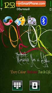 Colours 05 tema screenshot