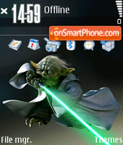 Yoda 02 theme screenshot