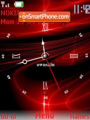 Red Clock es el tema de pantalla