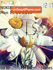Camomile and Spring theme screenshot