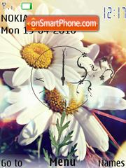 Скриншот темы Camomile and Spring