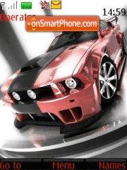 Ford mustang gtr 01 theme screenshot