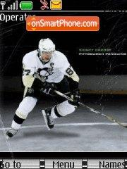 Crosby Pittsburgh Penguins theme screenshot