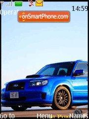 Subaru Forester STI tema screenshot