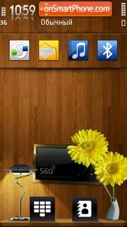 Wood 02 theme screenshot
