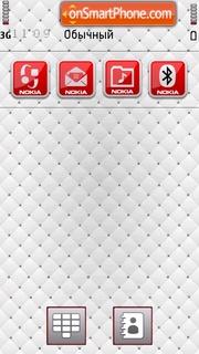 Zagato White tema screenshot