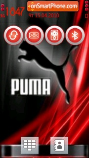 Скриншот темы Puma 3259