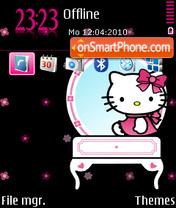 Black Kitty FP2 DIV es el tema de pantalla