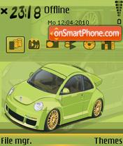 Beetle 01 es el tema de pantalla