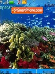 The underwater world 2 theme screenshot