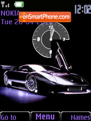 Lamborghini theme screenshot