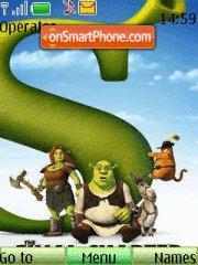 Скриншот темы Shrek Forever