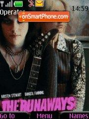 The Runaways theme screenshot