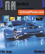 Скриншот темы Cars Theme