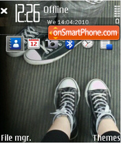 Couples shoes theme screenshot