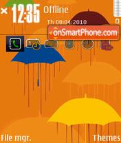 Umbrella 03 theme screenshot