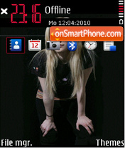 Avril fp1 theme screenshot