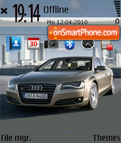 Audi a8 02 theme screenshot