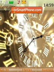 Скриншот темы Clock