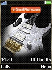Скриншот темы Guitar 07