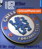 Chelsea FC Logo es el tema de pantalla