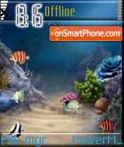 Aqua 05 es el tema de pantalla