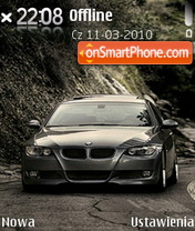 Bmw M3 06 theme screenshot