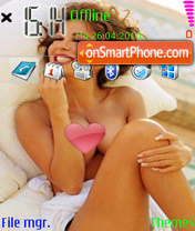 Sabrina Ferilli-01 theme screenshot