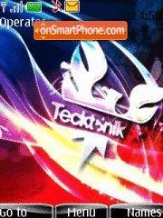 Tecktonik 03 theme screenshot