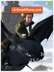 How to train your Dragon es el tema de pantalla