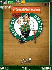 Boston Celtics 01 tema screenshot