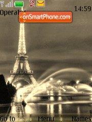Paris 10 tema screenshot