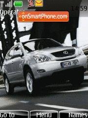 Скриншот темы Lexus 08