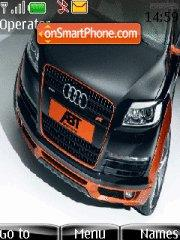 Audi black 02 theme screenshot