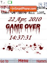 Game Over 02 tema screenshot