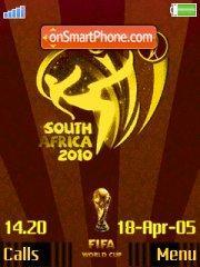 World Cup 2010 01 theme screenshot