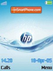 Hp In Water es el tema de pantalla