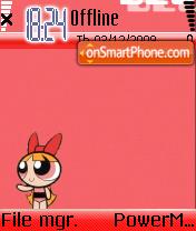 Super Girl 02 es el tema de pantalla