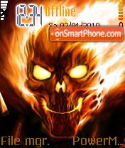 Fire Skull 02 es el tema de pantalla