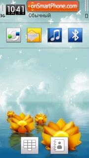 Water Lily 01 theme screenshot