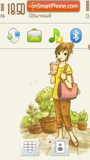 Pure 01 theme screenshot