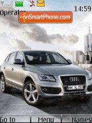 Capture d'écran Audi q6 thème
