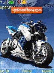 Скриншот темы Superbike With Tone