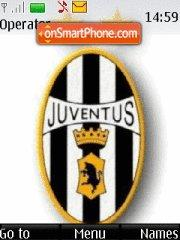 Juventus FC 01 theme screenshot