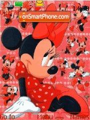 Minnie Mouse 03 theme screenshot