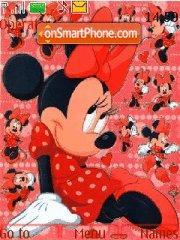Скриншот темы Minnie Mouse 03