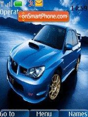Subaru Impreza 07 tema screenshot