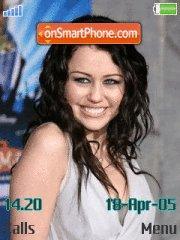 Скриншот темы Miley Cyrus 07