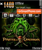 Pirates of caribbean 01 theme screenshot