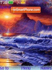 Big Waves theme screenshot